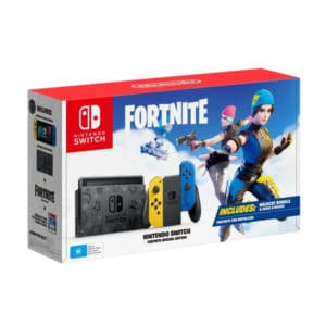 Nintendo Switch Yellow & Blue + Fortnite