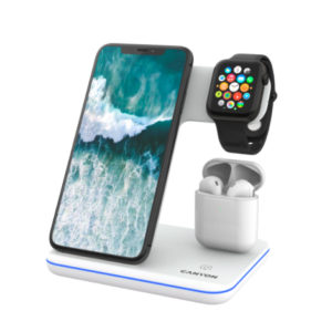 Canyon 3-in-1 Wireless Charging Station White