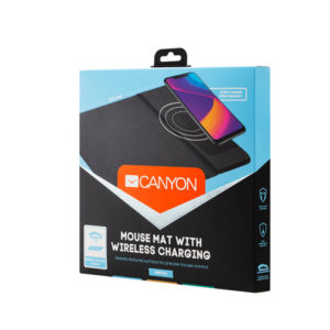 Canyon Wireless Charging Mouse Pad 324x244x6 mm MP-W5