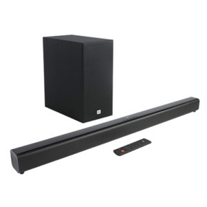JBL Cinema SB160 2.1 Channel soundbar with Wireless Subwoofer 220W