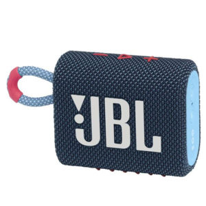 JBL Go 3 Portable Bluetooth Speaker Blue & Pink