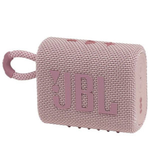 JBL Go 3 Portable Bluetooth Speaker Pink