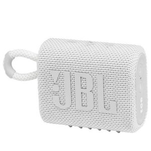 JBL Go 3 Portable Bluetooth Speaker White