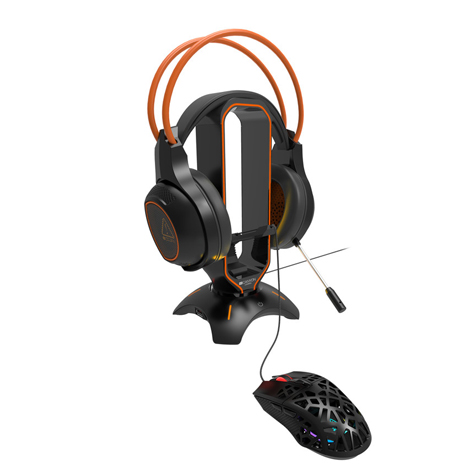 Canyon 3 in 1 Gaming Mouse/ Headset Bungee & USB Hub