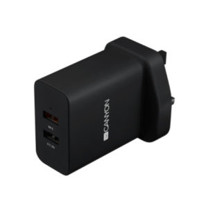 Canyon Multi-USB Wall Charger, 2.4A H-07/UK