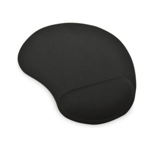 Ednent Mouse Pad with Gel Wrist Rest - Black