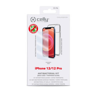 Celly Antibacterial Protection Kit Iphone 12/12 Pro