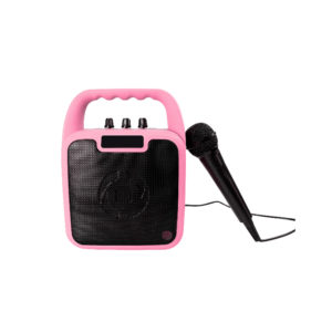 Celly Kids Party Wireless Speaker With Microphone Pink