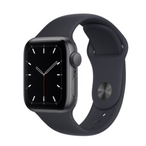 Apple Watch SE GPS 40mm Space Grey Aluminium Case with Midnight Sport Band